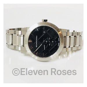 Men's Burberry BU9901 42mm Watch With Box
